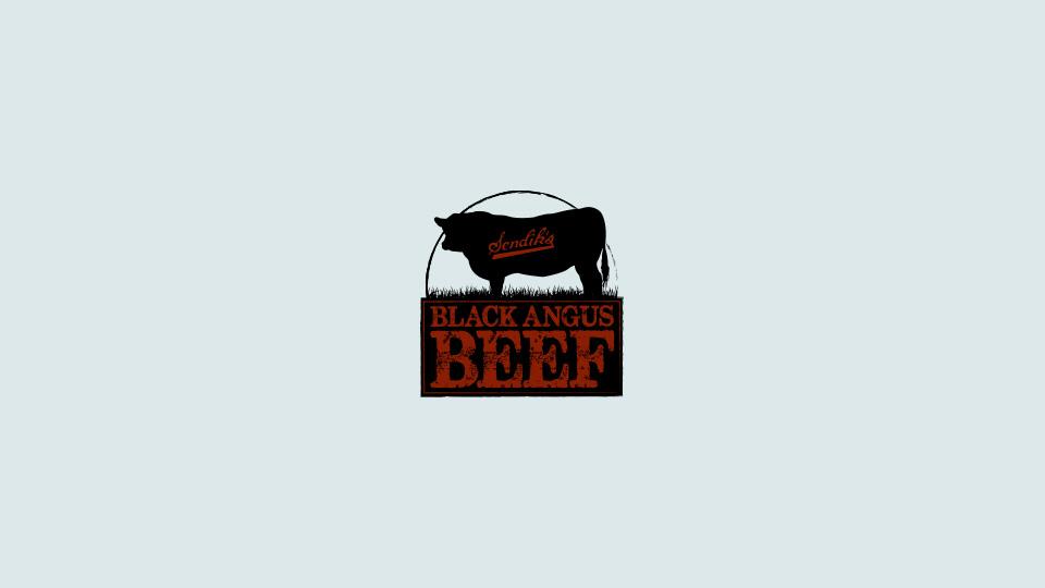 Sendik's Black Angus Beef Main Logo