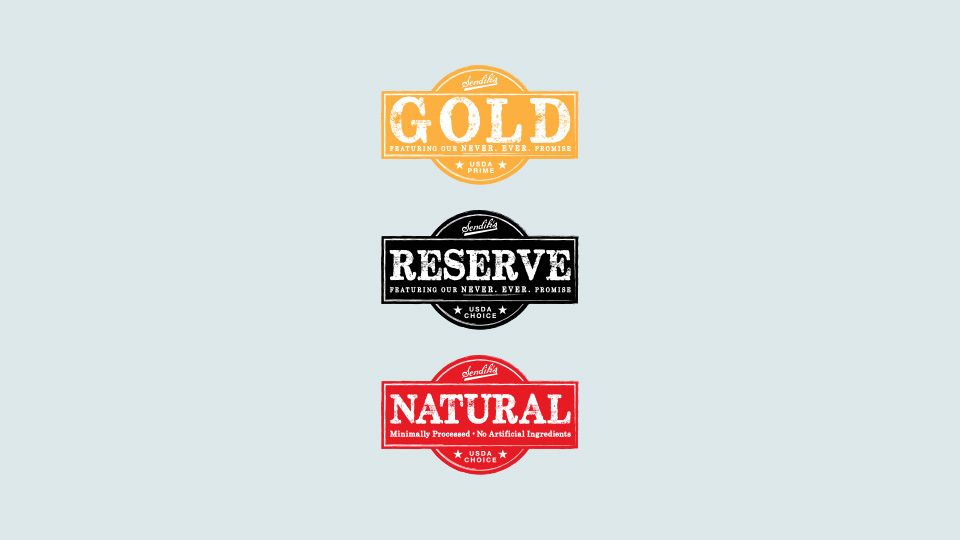 Sendik's Black Angus Beef Secondary Logos