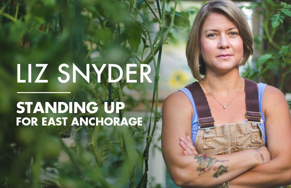 Liz Snyder walkcard - front